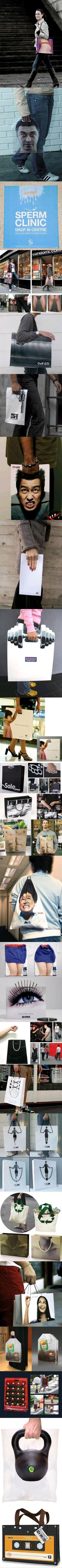 Funny Funny Pictures - Epic shopping bags - Funny Pictures, MEME, LOL