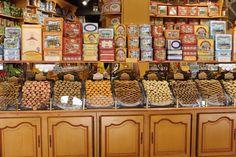 Confectionary store in Cité de Carcassonne