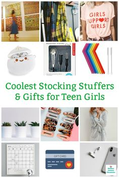 We've gathered together all the coolest stocking stuffers and gifts for teen girls. It can be hard picking a gift for a teenage girl. Perfect for your niece daughter or friend. Stocking Stuffers For Teenage Girls, Best Stocking Stuffers, Teenage Girl Gifts, Gifts For Teens, Happy Mom, Happy Kids, Geek Gifts, Spa Gifts, 1st Birthday Girls