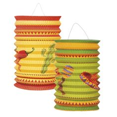 Fiesta-paperilyhdyt