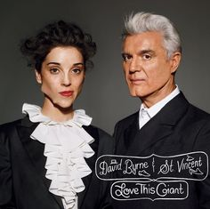 """David Byrne & St Vincent: Love This Giant (to-be-released September 11th) is the fruit of a collaboration two years in the making, and """"Who"""" is the first to jump of the 12 track album–complete with 2 track from each artist, respectively.  It is a duo representation of modern avant-garde and its roots in New Wave."""