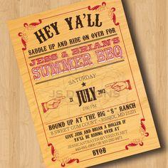 Summer BBQ Digital Design Only by JessicaStrayerDesign on Etsy, $20.00