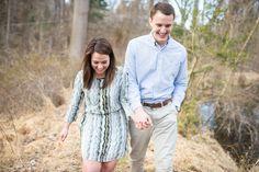 Valerie + Trevor // Media, Pennsylvania Engagement Session // Alison Dunn Photography