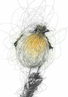 Brilliant And Bright Ballpoint Pen Art awesome pencil bird drawing More. Stylo Art, Scribble Art, Ballpoint Pen Drawing, Arte Sketchbook, Art Et Illustration, Bird Drawings, Pencil Drawings Of Nature, Drawing Birds, Art Journal Inspiration