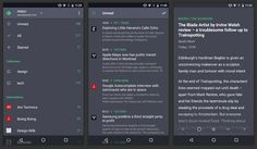 Conoce sobre Quote, un interesante cliente RSS para dispositivos Android con soporte para Feedly