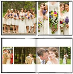The Wedding Album  The Album Cafe | Photoshop Templates for Photographers