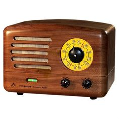 Solid wood table radio, retro radio, audiophile radio, tube radio 1