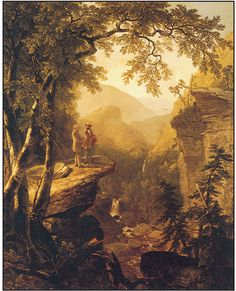 Crystal Bridges Famous Paintings Kindred Spirits
