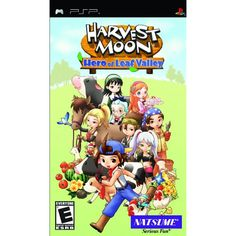 Harvest Moon: Hero of Leaf Valley - Sony PSP * Click on the image for additional details. (This is an affiliate link) #VideoGames