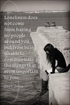 ...lonliness