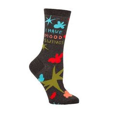 I Have Mood Swings Crew Socks