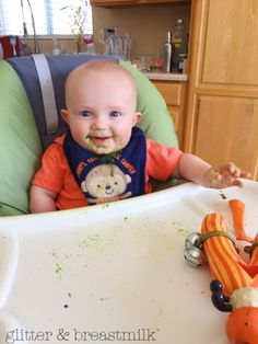 + Glitter & Breastmilk | by Sarah Ashbaugh | How To Make Your OWN Baby Food