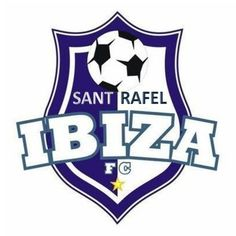 CF Sant Rafel (Sant Rafel, Islas Baleares, España) #CFSantRafel #SantRafel #IslasBaleares (L19411) Sports Clubs, Chevrolet Logo, Spain, Soccer, Times, Logos, Balearic Islands, Football, Soccer Ball