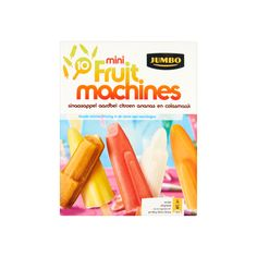Jumbo Mini Fruit Machines 10 x 20g - Waterijsjes
