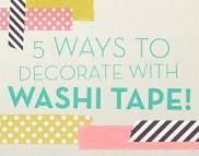 washi tape ideas - Google Search