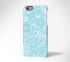 Lace Floral Pastel Sky Blue iPhone 6s / 6s Plus Case, iPhone 5s / 5c Case, Galaxy S6 / Edge Plus Case 175