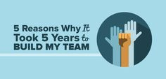 I used to do 99% of the work. Now I have a team to help. Let me tell you, it's SO. MUCH. BETTER. http://www.smartpassiveincome.com/5-reasons-why-it-took-5-years-to-build-my-team/