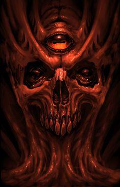 💀🕸Undead by Kazimirov Dmitriy🕸💀 Skull Tattoo Design, Skull Tattoos, Arte Horror, Horror Art, Dark Art Tattoo, Tattoo Art, Giger Art, Skeleton Drawings, Biomechanical Tattoo