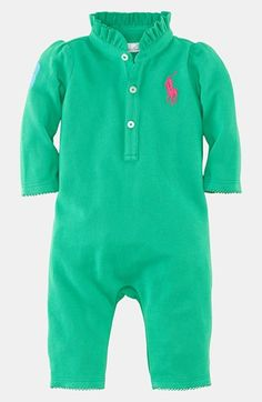 Ralph Lauren Coverall (Baby) available at #Nordstrom