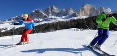 For sun lovers Carezza is the secret meeting place: this ski area is with an average of 8 sun hours a day for each winter day one of the sunniest ski areas of South Tyrol (Südtirol, Italy).