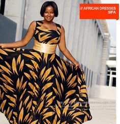 African dresses - Imani by Sifa