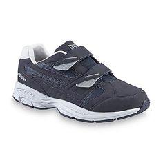 Everlast® Men's Marc II Navy/Gray Walking Shoe - Wide Width