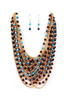 Lidia Necklace Set | Awesome Selection of Chic Fashion Jewelry | Emma Stine Limited