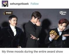 EXO is all of us during MAMA 2016