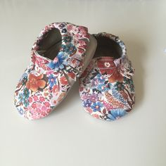 Mixed Media Floral and Champagne Toddler/ Baby Moccasins by PDPStudio on Etsy https://www.etsy.com/listing/241318553/mixed-media-floral-and-champagne-toddler