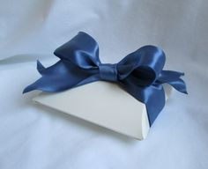 "Beautiful Smoke Blue Wire Ribbon... 1.5"" Wide by 12 feet by ThisandThatCrafter on Etsy"