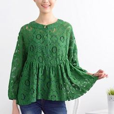 Buy '59 Seconds – Drop-Shoulder Lace Blouse' with Free International Shipping at YesStyle.com. Browse and shop for thousands of Asian fashion items from Hong Kong and more!
