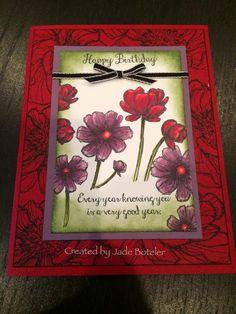 Blendabilities happy birthday Created by Jade Boteler