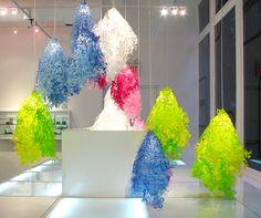 """Midsummer"" die-cut tyvek lights by Tord Boontje (Jenny Chen)"