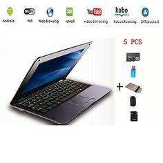 Anitech®Netbook ordinateur portable Ultrabook Android 4.2 HDMI(Wifi-SD-MMC),Sac d'ordinateur portable+Souris +Adapter +carte SD+lecteur de carte(5 PCS Accessoires) (10 inches, Noir) - http://laptopspirit.info/anitechnetbook-ordinateur-portable-ultrabook-android-4-2-hdmiwifi-sd-mmcsac-dordinateur-portablesouris-adapter-carte-sdlecteur-de-carte5-pcs-accessoires-10-inches-noir/