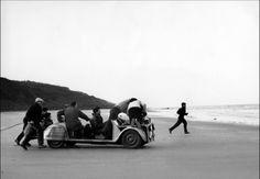 Les Quatre Cents Coups (1959), behind the camera on famous final shot.