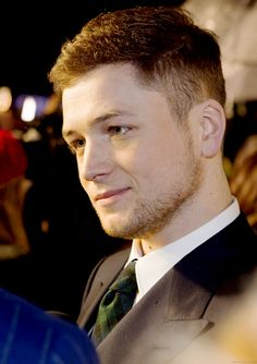 Taron Egerton is proof that there must be a god who loves us enough to give us this gentleman