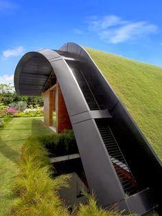 Grashaus - nachhaltig und energiesparend.