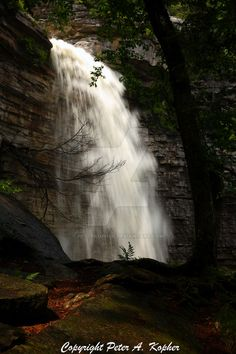 """The Next Step - Picture of the Day: 7/27/13 - """"Awosting Falls 2"""" Minnewaska State Park Preserve in Kerhonkson, NY."""