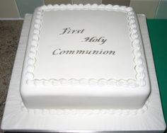 Holy Communion | Alison's Cakes