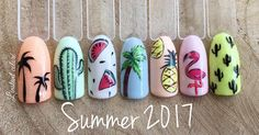 Lovely Nail Art for Summer 2017
