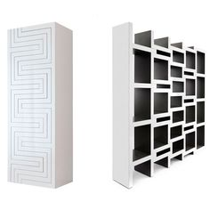 REK Bookcase... REK is a bookcase that grows with your book collection. The more books the bigger the bookcase gets >> Very cool!