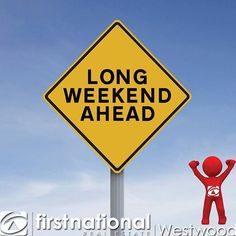 Have a great long weekend!