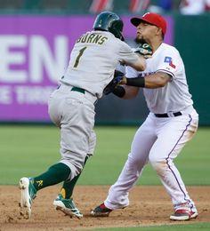 Oakland Athletics vs. Texas Rangers - Photos - June 23, 2015 - ESPN