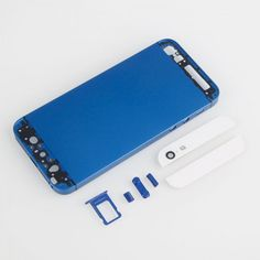 Protective Back Cover Case for iPhone 5 Dark Blue + White $81.04 #ubetechno #Iphone