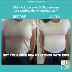 Look younger, thinner and more professional with Essential Bodywear. I offer the service of a professional bra fitting. Fittings can be done in a private fitting, home party and even virtually. Contact me today at debstone62@hotmail.com