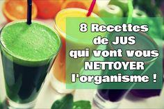 Detox Juice Cleanse Recipes & Detox Drinks For Weight Loss Body Detox Cleanse, Full Body Detox, Juice Cleanse, Stomach Cleanse, Detox Diet Drinks, Detox Juices, Detox Foods, Diet Detox, Detox Lunch