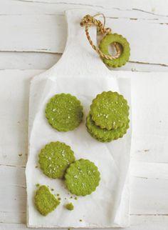 Green Tea Salt cookies