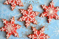 Advent 4: Sneeuwvlok koekjes - Laura's Bakery