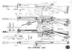 FAL  De FAL is de opvolger van de Garand voor de infanterie (introductie FAL starte begin jaren 60, het is een semi-automatisch geweer en geschikt voor gebruik op afstanden tot ongeveer 300 meter, met richtkijker AI-62 tot ongeveer 800 meter. Het kaliber van het geweer is 7,62mm NATO. Het magaziijn mag maximaal 20 patronen bevatten.