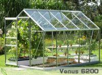 De Vita Via_venus. 193 m breed. In verschillende lengtematen verkrijgbaar. Ook met groene poedercoating http://www.hazenbergtuinkassen.nl/product-details/budget/vitavia-venus-193-cm-breed/b13g1c7o1367/